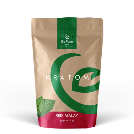 Potent Red Malay Kratom. 100% Pure Mitragyna Speciosa from GoPure